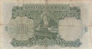 Bulgaria, 200 Leva, 1929, POOR, p50a