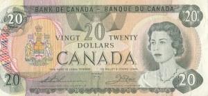 Canada, 20 Dollars, 1979, VF, p54c