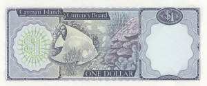 Cayman Islands, 1 Dollar, 1971, UNC, p1b