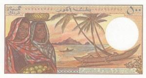 Comoros, 500 Francs, 1994, UNC, p10b