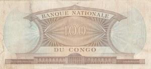Congo Democratic Republic, 100 Francs, 1964, AUNC, p6a