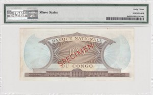Congo Demokratic Republic, 100 Francs, 1961-69, UNC, p6s, SPECİMEN