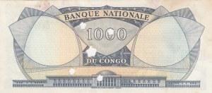 Congo Democratic Republic, 1000 Francs, 1964, UNC, p8a, (CANCELLED)