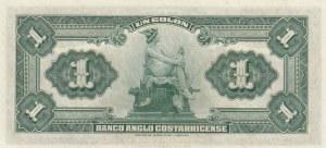 Costa Rica, 1 Colon, 1917, UNC, pS121