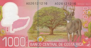 Costa Rica, 1000 Colones, 2009, UNC, p274