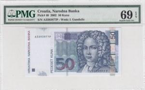 Croatia, 50 Kuna, 2002,UNC, p40