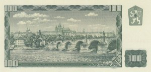 Czech Republic, 100 Korun, 1961, UNC, p91b