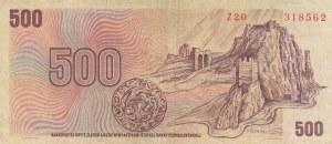 Czech Republic, 500 Korun, 1973, FINE, p93
