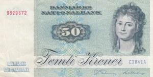Denmark, 50 Kroner, 1984, XF, p50f