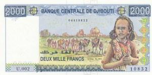 Djibouti, 2000 Francs, 1997, UNC, p40