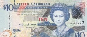 East Caribean States, 10 Dollars, 2012, UNC, p52