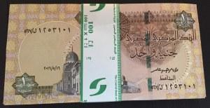 Egypt, 1 Pound, 2016, UNC, p50, BUNDLE