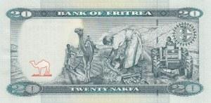 Eritrea, 20 Nakfa, 2012, UNC, p12