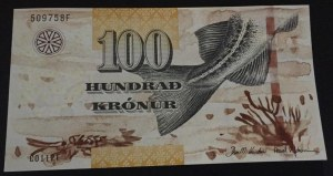 Faeroe Islands, 100 Kronur, 2011, UNC, p30