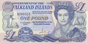 Falkland Islands, 1 Pound, 1984, XF, p13