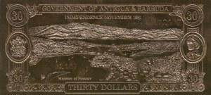 Fantasy Banknotes, Antigua and Barbuda, 30 Dollars, 1981, UNC