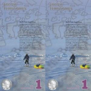 Fantezi Banknot, Artic Terrotories, 1 Dollar (2), 2012, UNC