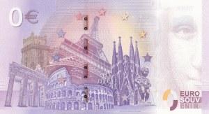 Fantasy banknotes, 0 Euro, 2018, UNC