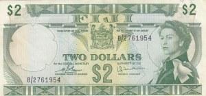 Fiji, 2 Dollars, 1974, VF, p72c