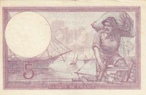 France, 5 Francs, 1933, VF, p72e