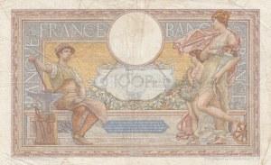 France, 100 Francs, 1934, VF (-), p78e