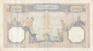 France, 1000 Francs, 1937, FINE, p79c