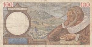 France, 100 Francs, 1940, VF (-), p94