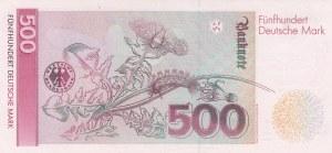 Germany, 500 Mark, 1991, AUNC, p43a