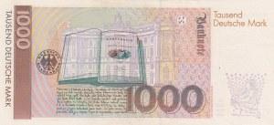 Germany, 1000 Mark, 1991, AUNC, p44a