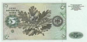 Germany, 5 Deutsche Mark, 1960, UNC, p18