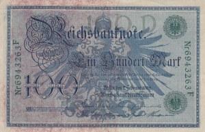 Germany, 100 Mark, 1908, VF (+), p33