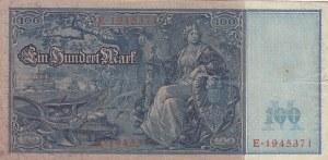 Germany, 100 Mark, 1910, XF (-), p38
