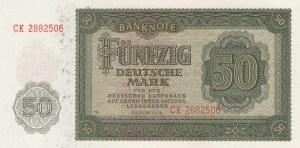 Germany Democratic Republic, 100 Mark, 1948, UNC, p14b