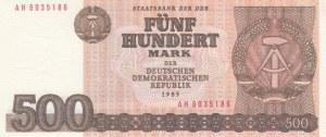 Germany- Democratic Republic, 500 Mark, 1985, UNC, p33