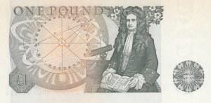 Great Britain, 1 Pound, 1978, UNC, p377a