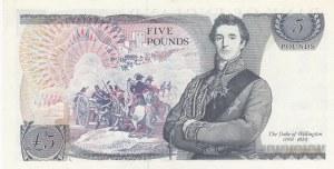Great Britain, 5 Pounds, 1980, UNC, p378c