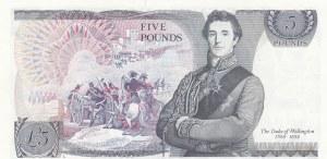 Great Britain, 5 Pounds, 1986, UNC, p378c