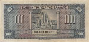 Greece, 1000 Drachmai, 1926, XF, p100b
