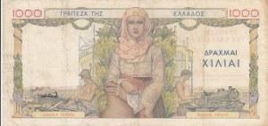 Greece, 1000 Drachmai, 1935, VF, p106a