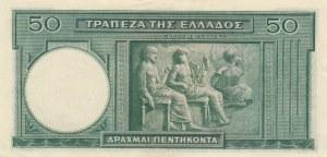 Greece, 50 Drachmai, 1939, AUNC, p107