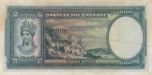 Greece, 1000 Drachmai, 1939, AUNC, p110a