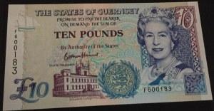 Guernsey, 10 Pounds, 2015, UNC, p-UNL