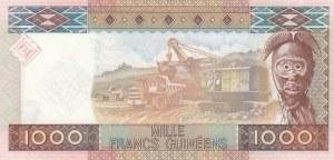 Guinea, 1000 Francs, 2010, UNC, p43
