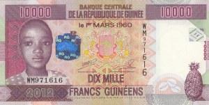 Guinea, 10.000 Francs, 2012, UNC, p46