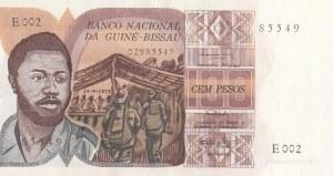 Guinea Bissau, 100 Pesos, 1975, UNC, p2a
