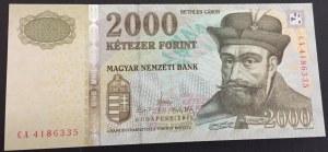 Hungary, 2.000 Forint, 2013, UNC, p198d