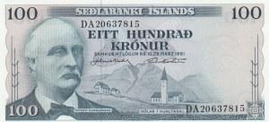 Iceland, 100 Kronurs, 1961, UNC, p44a