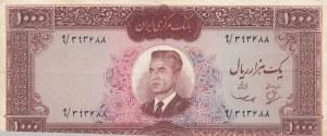 Iran, 1000 Rials, 1965, VF, p83