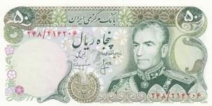 Iran, 50 Rials, 1974-79, UNC, p101c