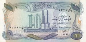 Iraq, 1 Dinar, 1973, UNC, p63a